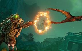 Vault Hunter Fl4k deals with a Raak in Borderlands 3.