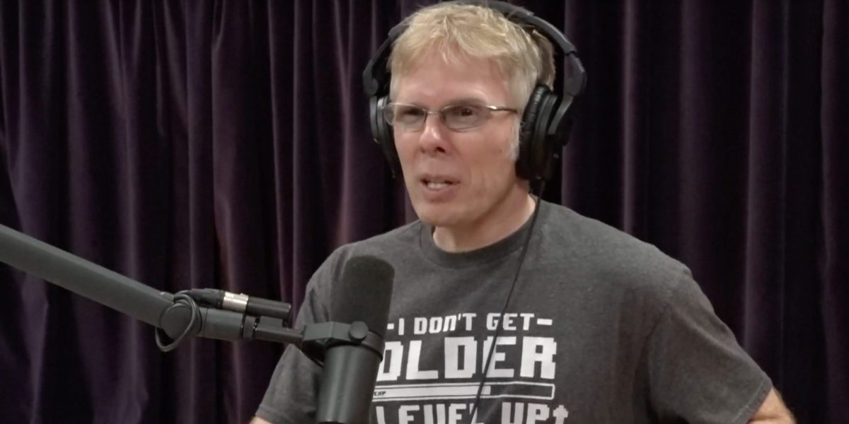 Oculus CTO John Carmack speaks on Joe Rogan's podcast about the current state of AR and VR.