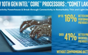 Intel's Comet Lake processors are for thin-and-light laptops.