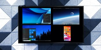 Ditto lets Apple TV mirror 4 Android, Chrome, or Windows screens at once