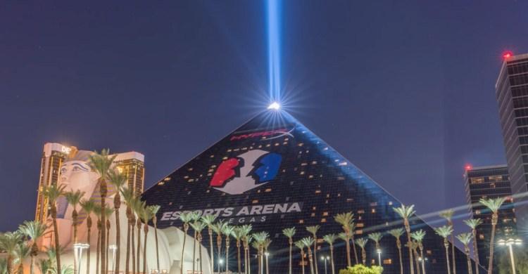 Esports Arena at Luxor Hotel in Las Vegas