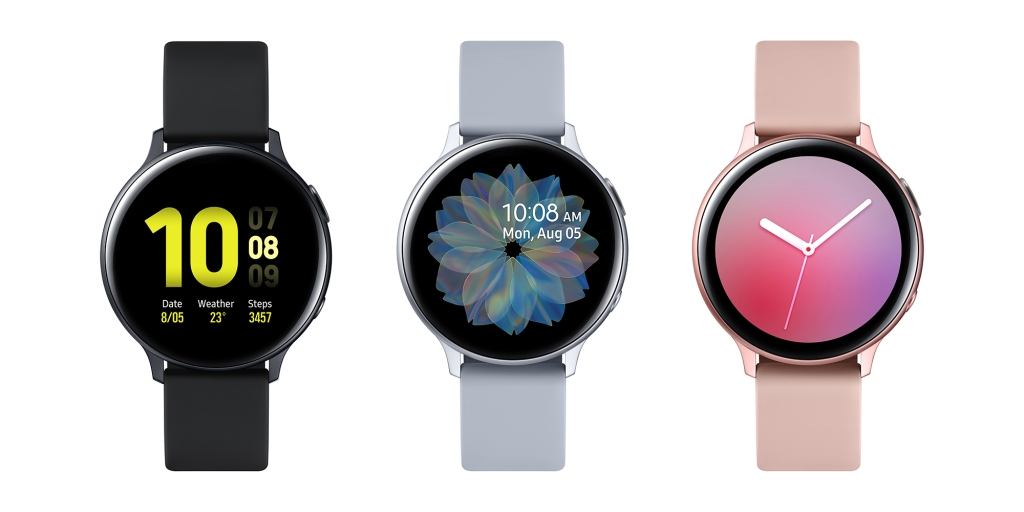 Samsung debuts Galaxy Watch Active2 with touch bezel in 2