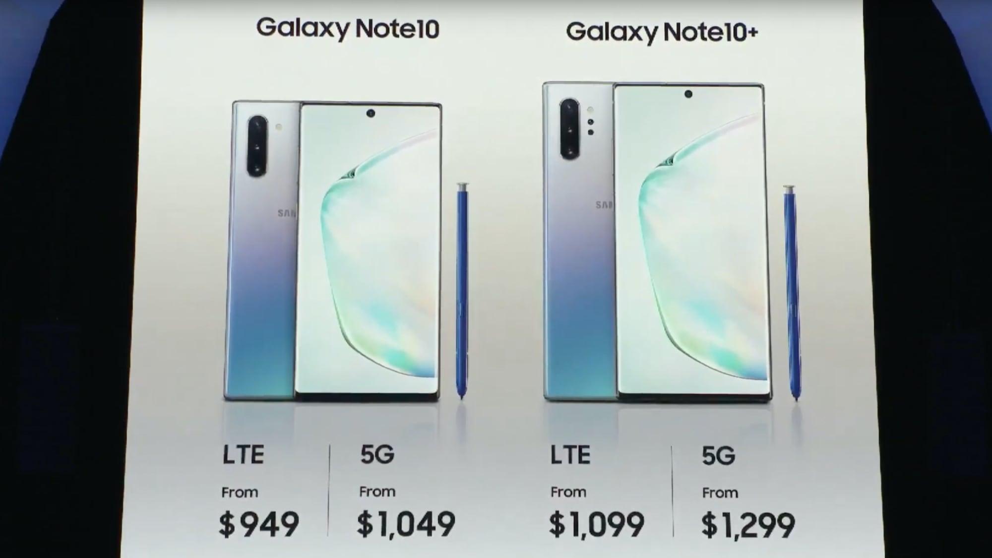 Samsung S Galaxy Note10 Makes A 5g Nightmare Come True Confusion Venturebeat
