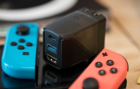 Genki Covert Dock is a charger and dock for the Nintendo Switch.