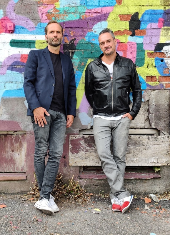 Hiber founders Michael Yngfors and