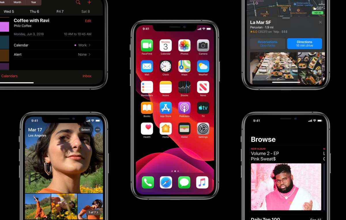 Apple will release iOS 13 and watchOS 6 on September 19, macOS Catalina in October