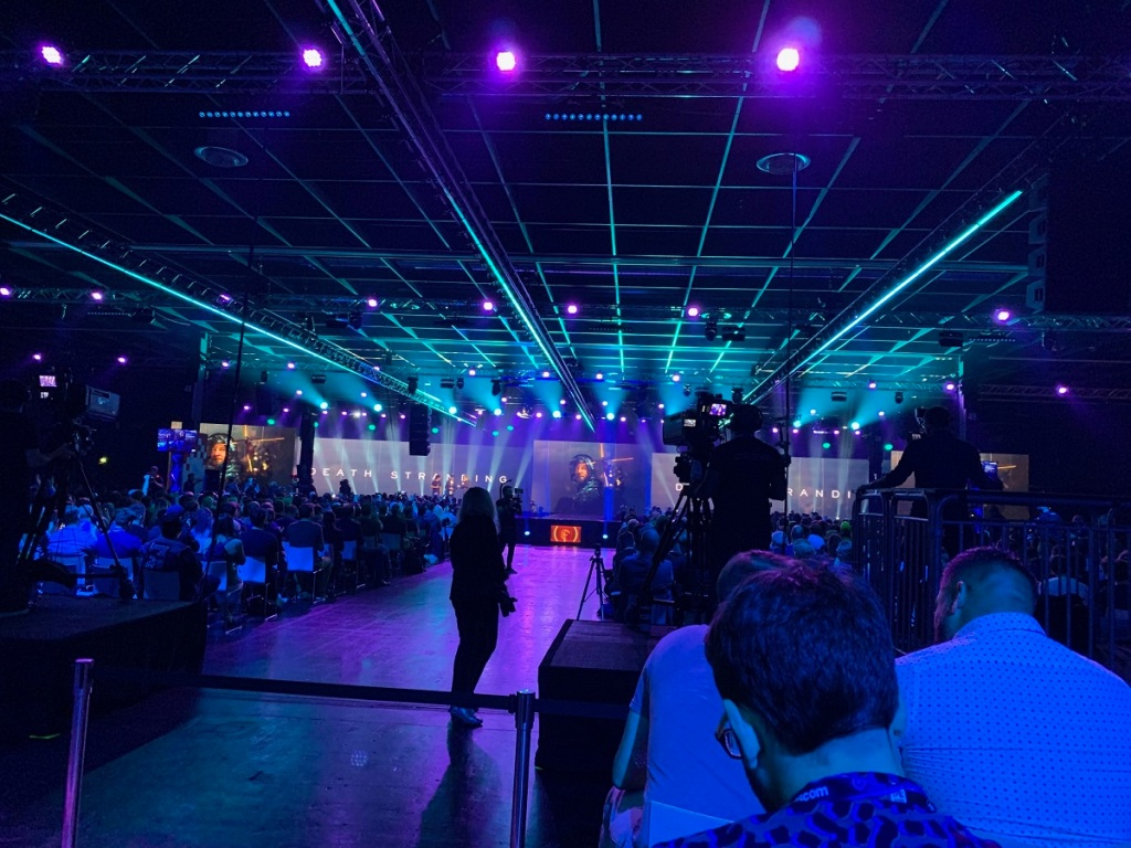 Geoff Keighley's Opening Night Live at Gamescom 2019.