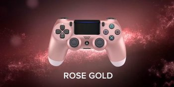 DualShock 4 gets hot new colors, including rose gold