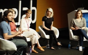 Diversity and inclusion panel at Gamelab