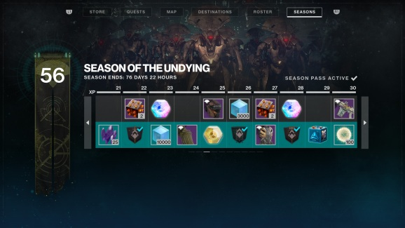 Season of the Undying for Destiny 2.