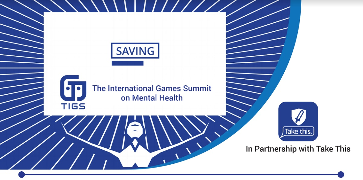 The International Games Summit on Mental Health takes place on October 9-10 in Toronto.