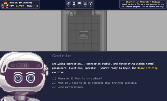Twilio turns developer education into a game with TwilioQuest 3