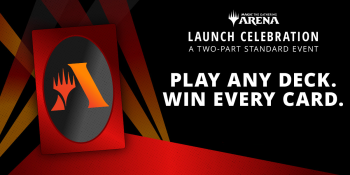 Magic: The Gathering -- Arena is holding a party -- and you can win every card in Standard during the event.