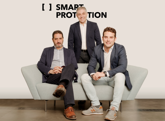 Smart Protection founders Manuel Moregal, Javier Perea, and Javier Capilla