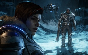 Kait, Jack, and Del in Gears 5.