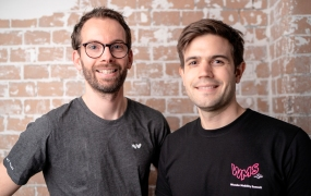 Wunder Mobility's cofounders Gunnar Froh and Sam Baker
