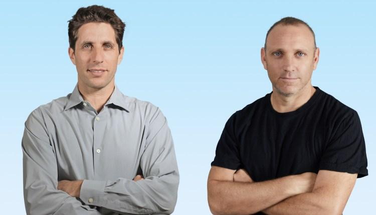 Duda cofounder and CEO Itai Sadan (left) with