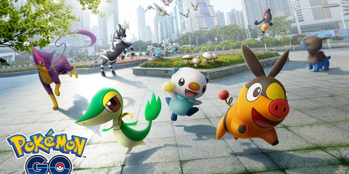 Pokémon Go Gen 5.