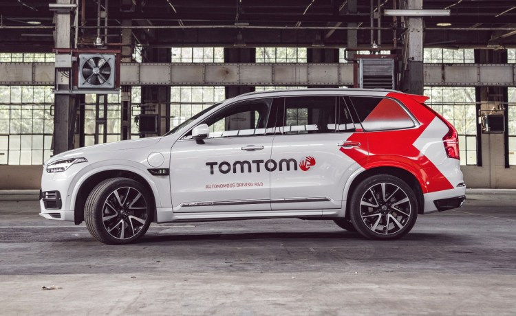 TomTom's first fully autonomous test car