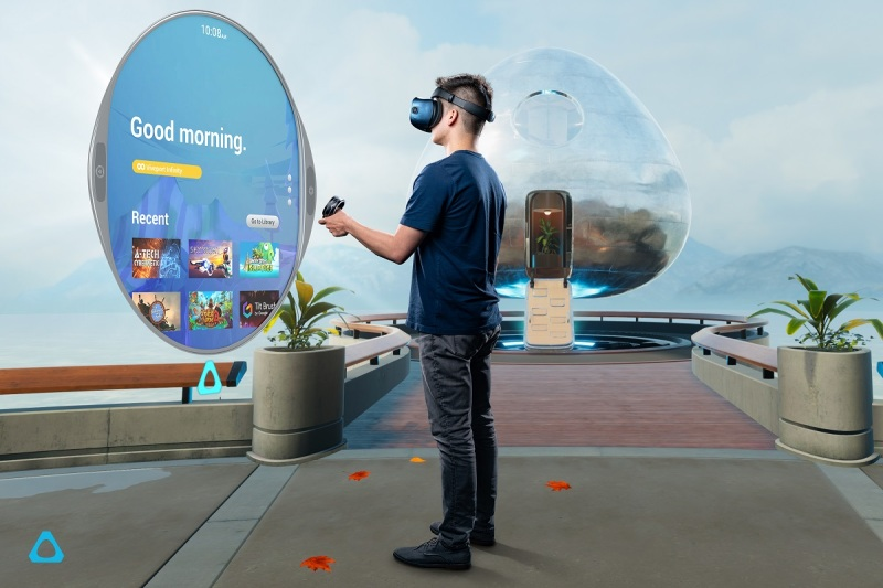 The Vive Reality System is a new feature of the HTC Vive Cosmos.