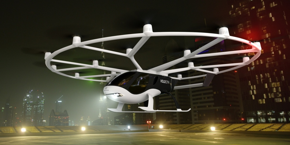 Volocopter's Volocity aircraft