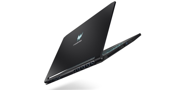 Acer Predator Triton from behind