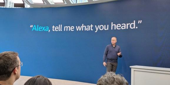 Amazon VP David Limp onstage