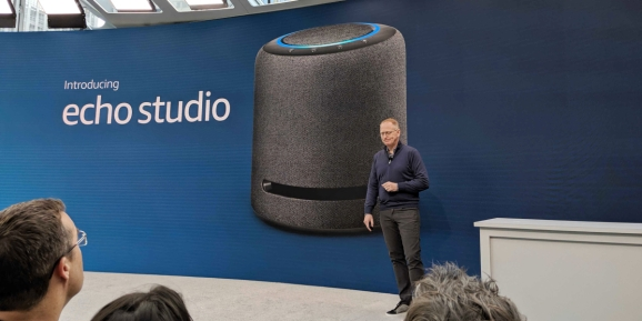 Amazon unveils Echo Studio with subwoofer and 3D Dolby sound
