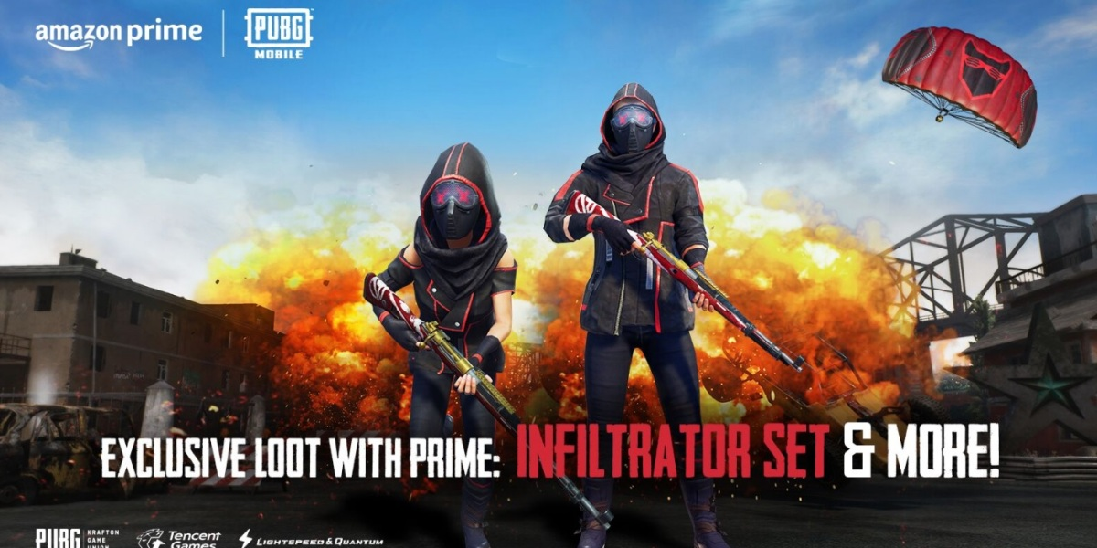 Amazon Prime membership will get you loot in PUBG Mobile.