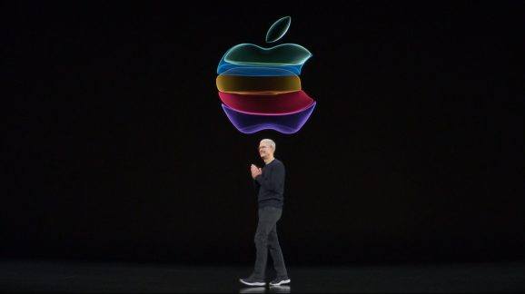 Tim Cook at Apple's By Innovation Only iPhone event, September 10 (2019)
