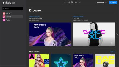 Apple Music now works in Chrome, Edge, Firefox, and other