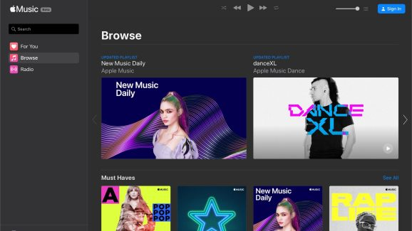 Apple Music now works in Chrome, Edge, Firefox, and other browsers