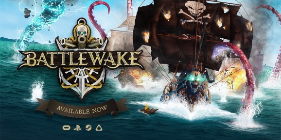 Battlewake will have solo, co-op, and online play.