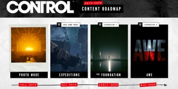 Control's content roadmap teases Alan Wake expansion