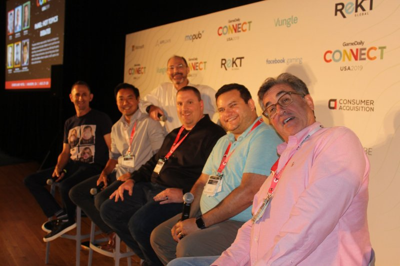 Left to right: Stuart Drexler, Jim Ying, Mike DeLaet, Mike Futter, Michael Pachter, and Nick Berry in the back.