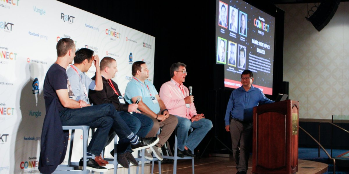 Left to right: Stuart Drexler, Jim Ying, Mike DeLaet, Mike Futter, Michael Pachter, and Dean Takaahshi.