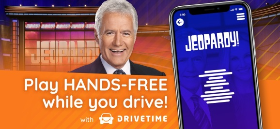 Jeopardy is coming to your commute via Drivetime.