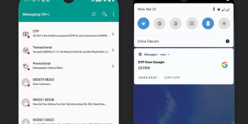 OnePlus SMS app taps AI to categorize messages and display content as visual cards
