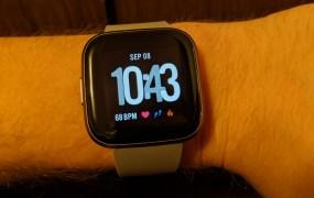 Fitbit Vesra 2 on Emil Protalinski's wrist