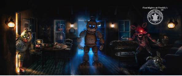Five Nights at Freddy's is getting the AR treatment.