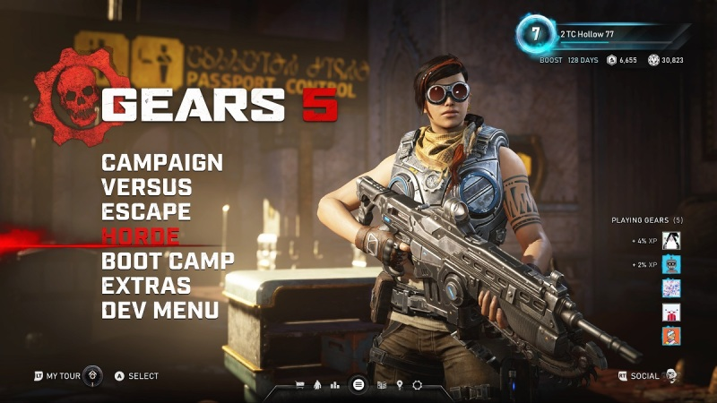 Gears 5 has a lot of options for players.