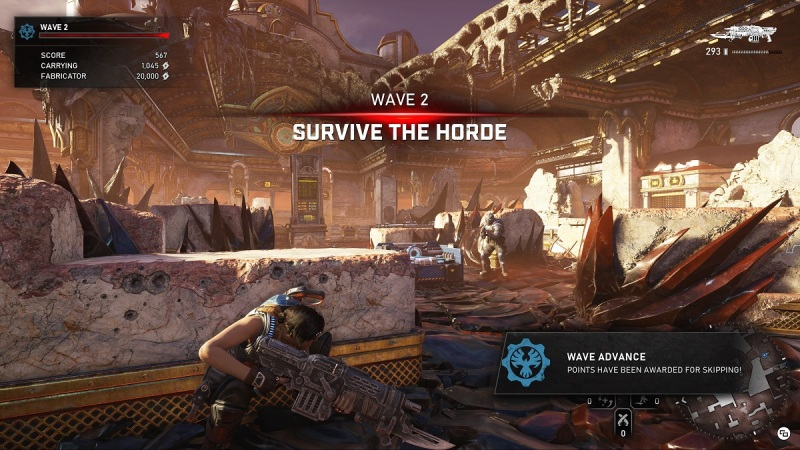 You have to be ready for the waves of the Horde in co-op.