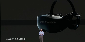Facebook teases Oculus Half Dome 2 and 3 prototypes