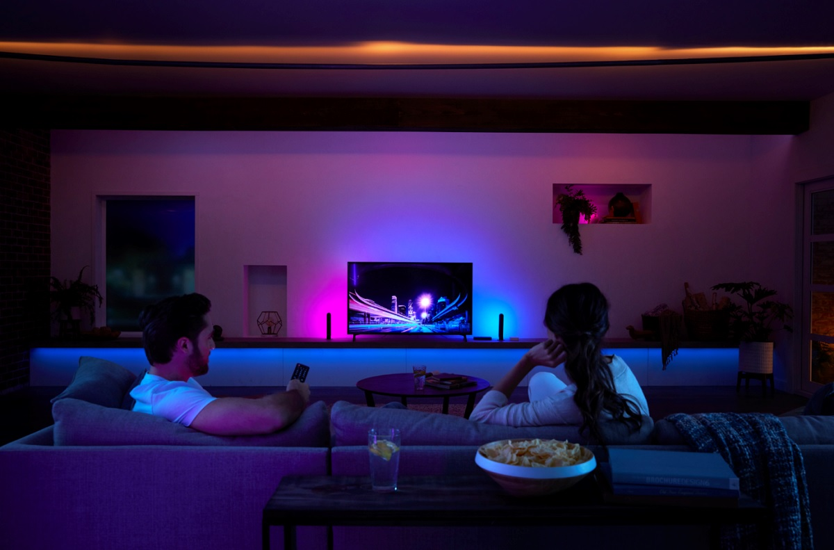 your light show HDMI to sync Philips a all Hue box brings jL4A53R