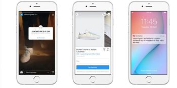 Instagram's launch notifier alerts you the moment a product drops