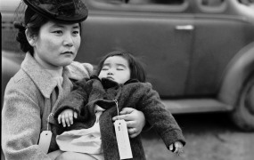 Japanese Americans wore identification tags ahead of the incarceration.
