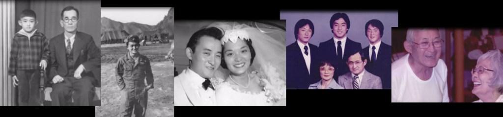 Keith Kitani's family pictures.