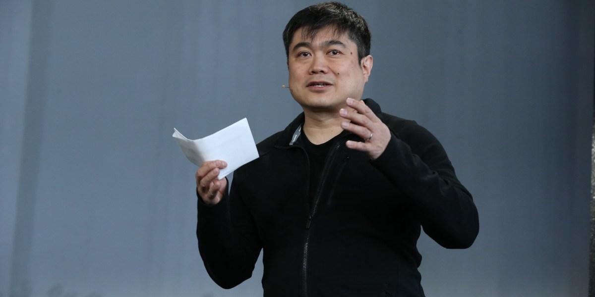 Former MIT Media Lab director Joi Ito