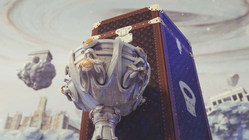 Louis Vuitton created the new League of Legends trophy.