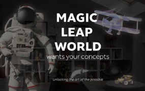 Magic Leap's Concepts are free apps that show AR possibilities.